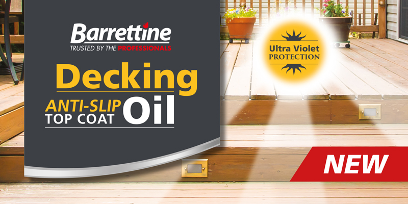 Decking Oil - Anti Slip Top Coat