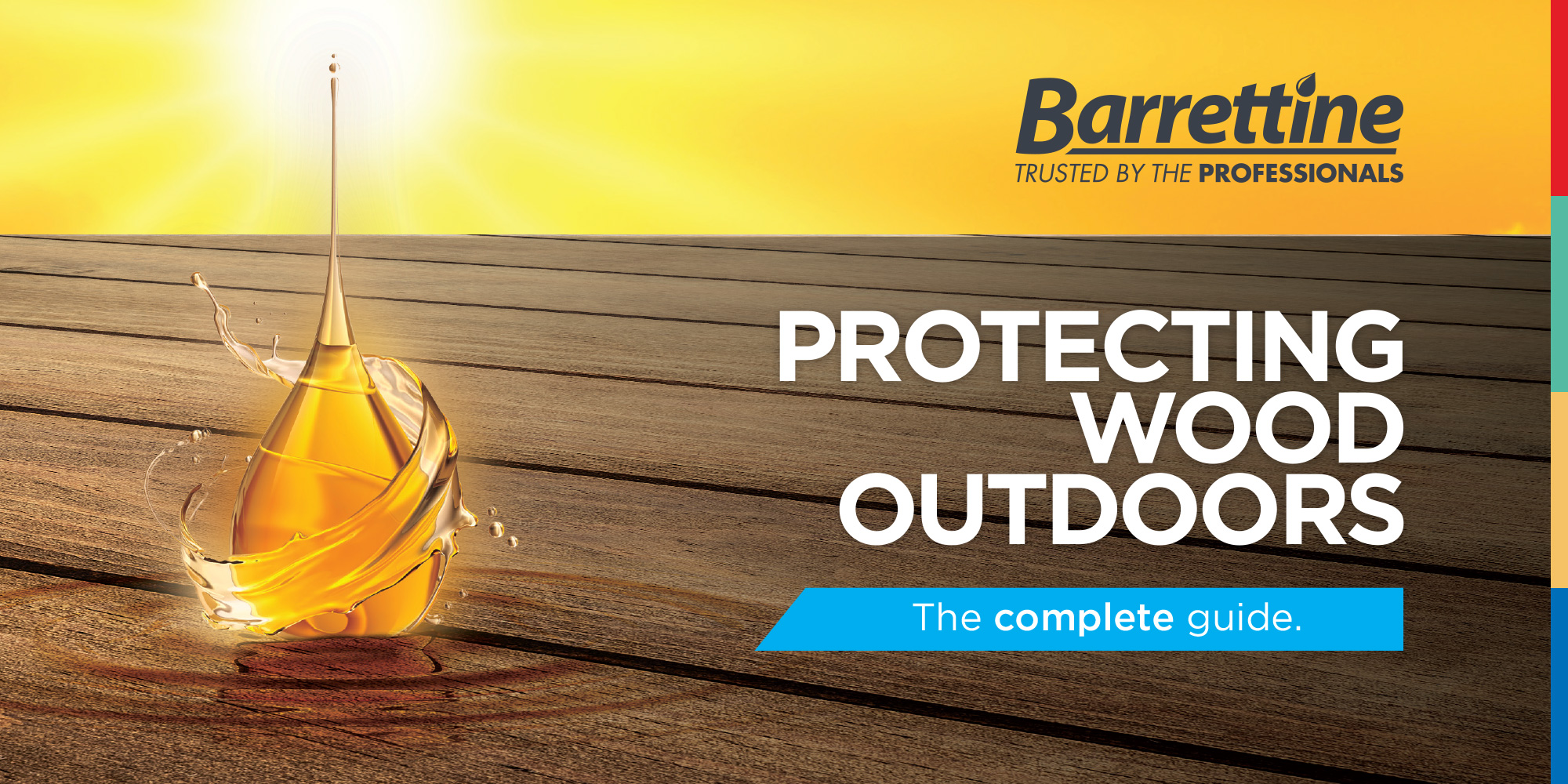 Protecting wood outdoors