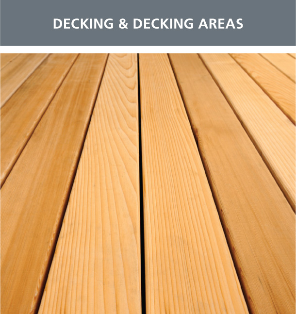 Decking & Decking Areas