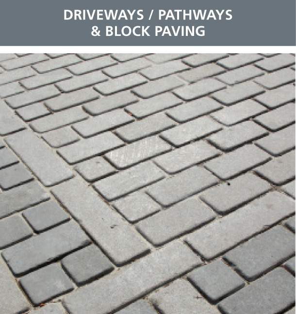 Driveways / Pathways & Block Paving