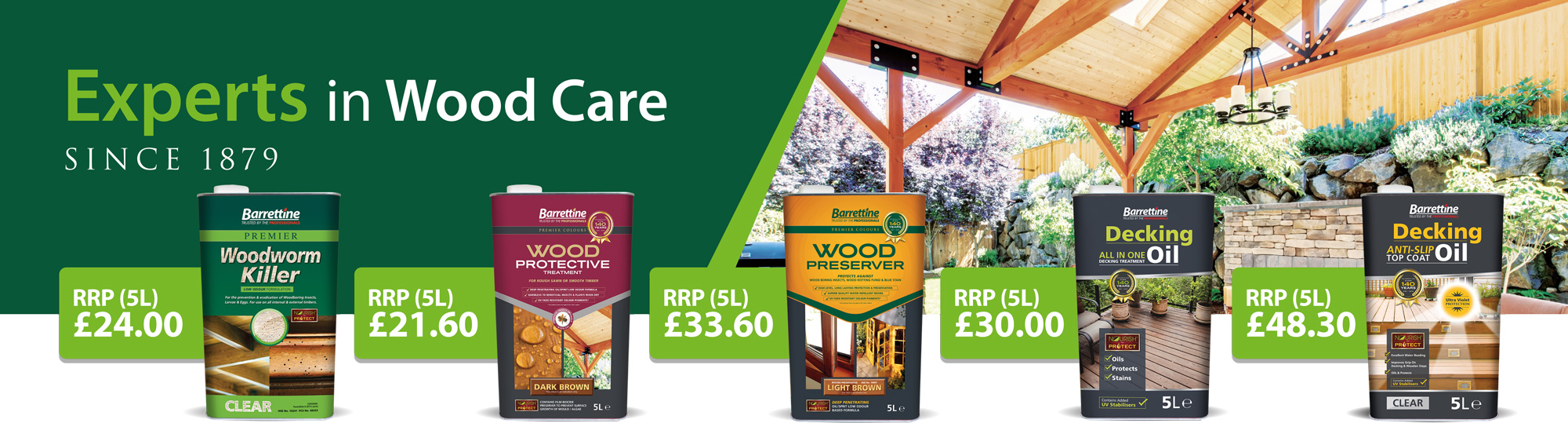 RHS Woodcare Promotion