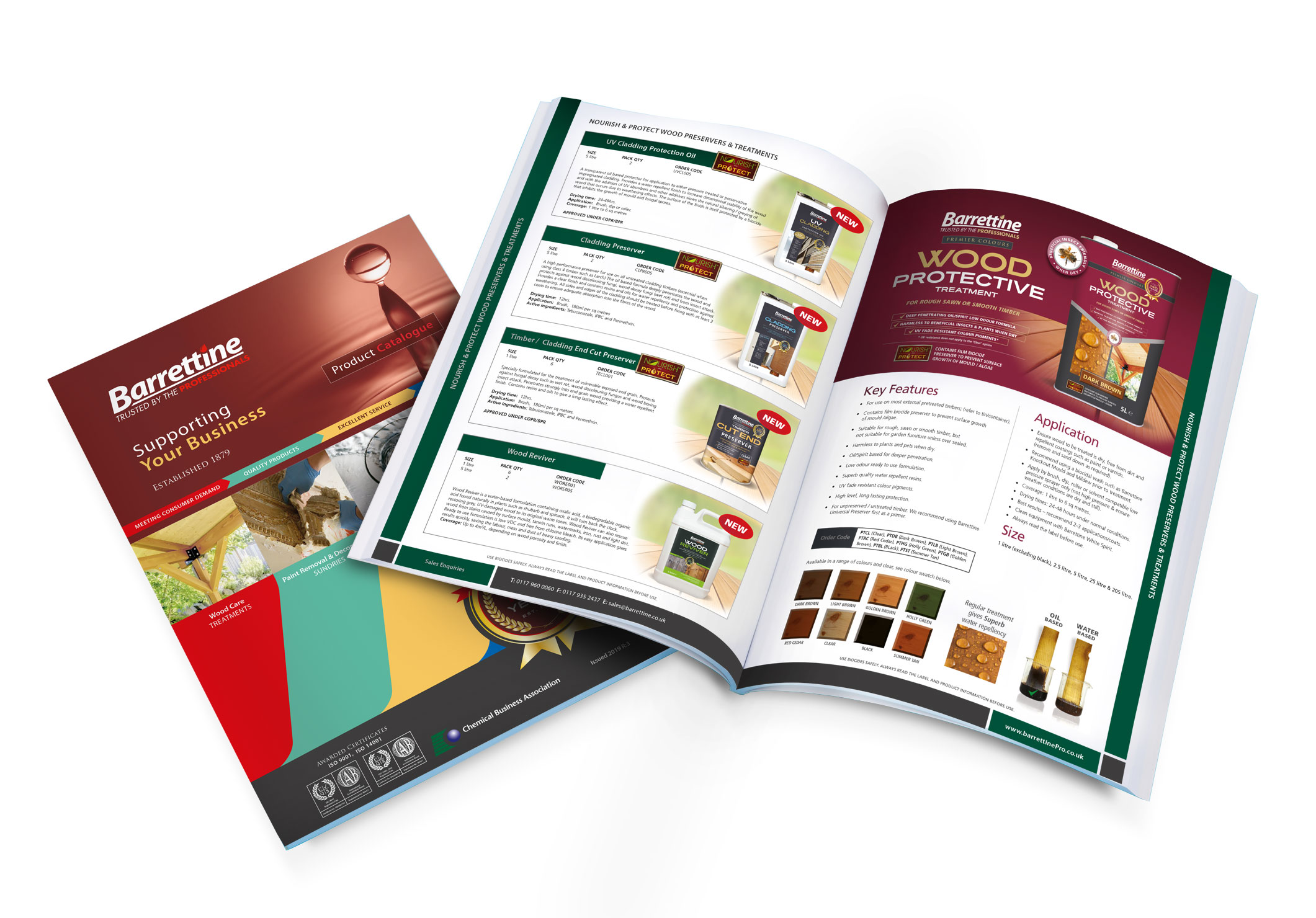 Catalogue Download Barrettine Products