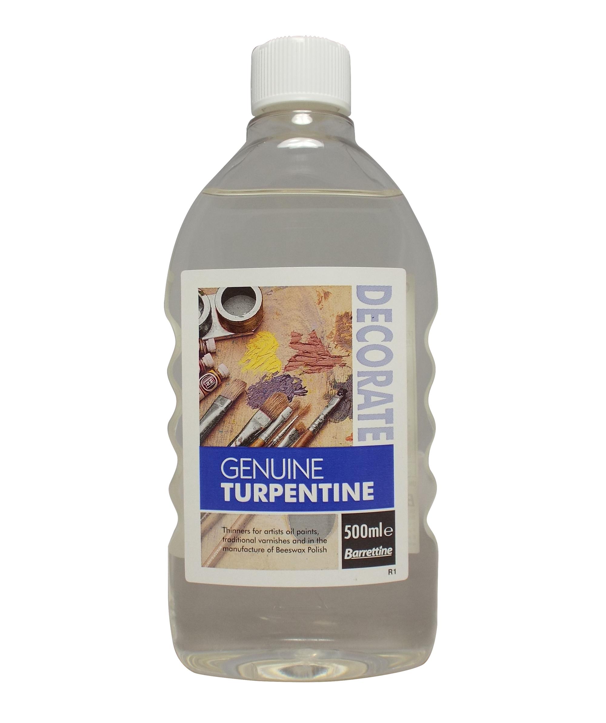 Genuine Turpentine | Barrettine Products
