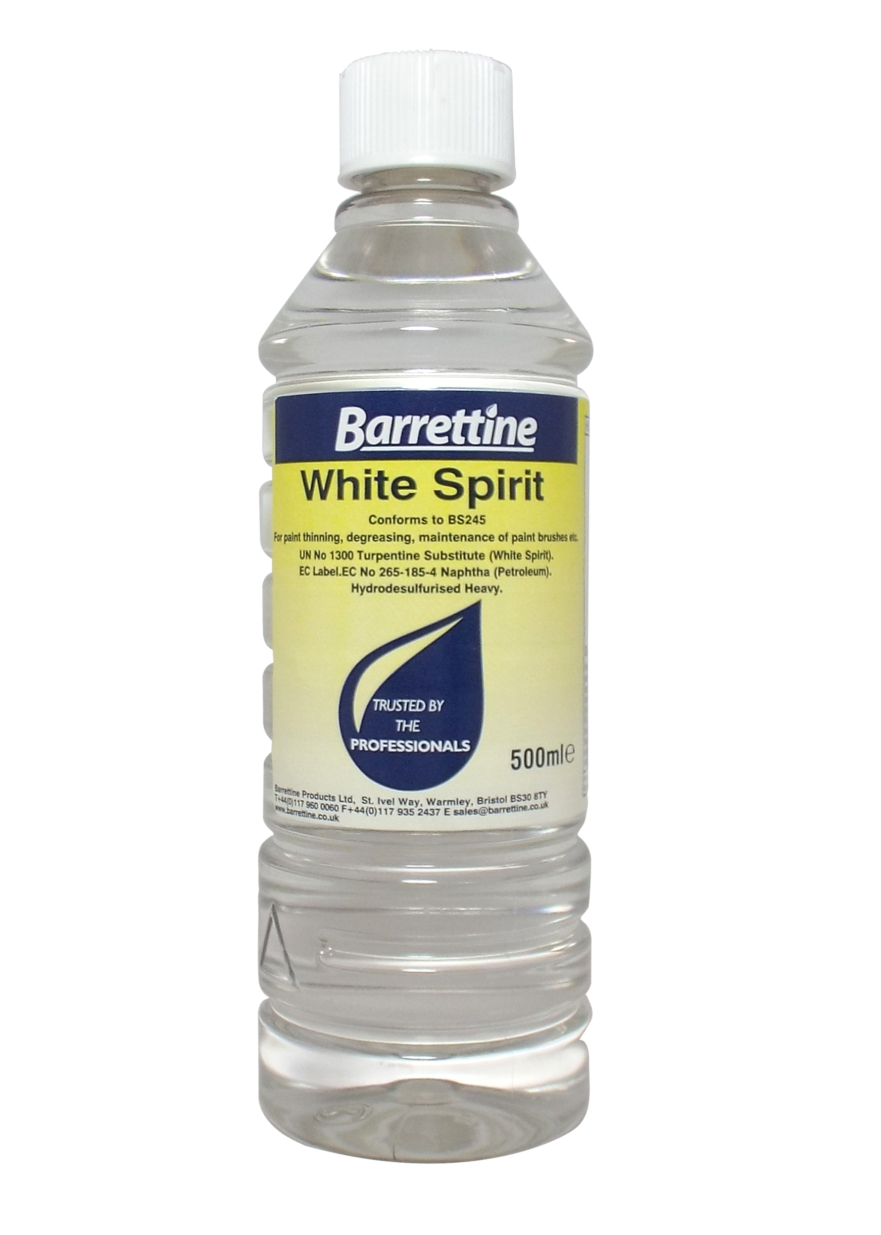 White Spirit Barrettine Products
