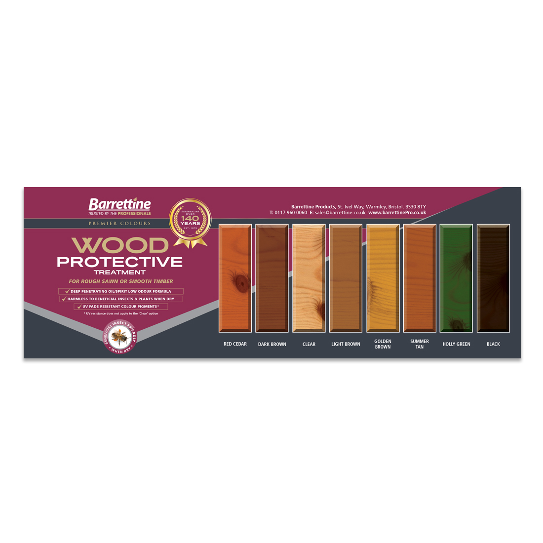 Protective Treatment Swatch Board