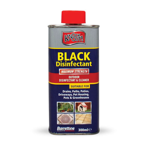 Black Disinfectant 300 ml