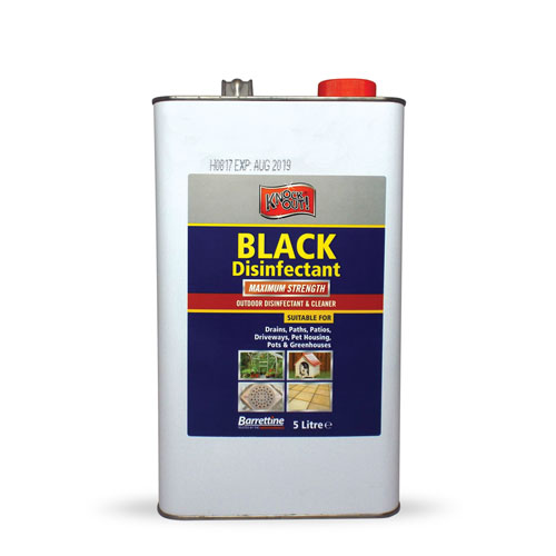 Black Disinfectant  5 L