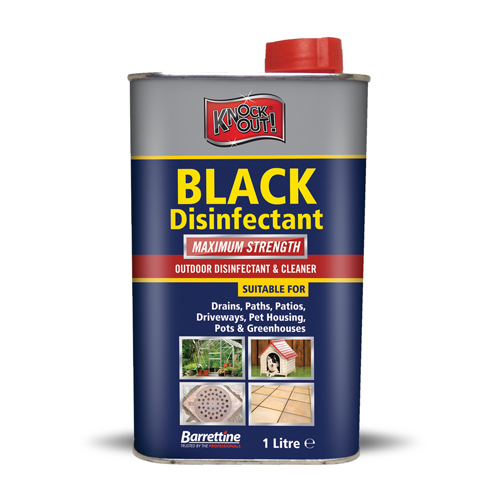 Black Disinfectant 1 Litre