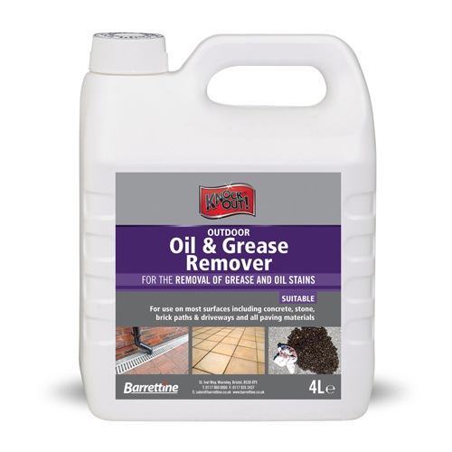Outdoor Oil & Grease Remover