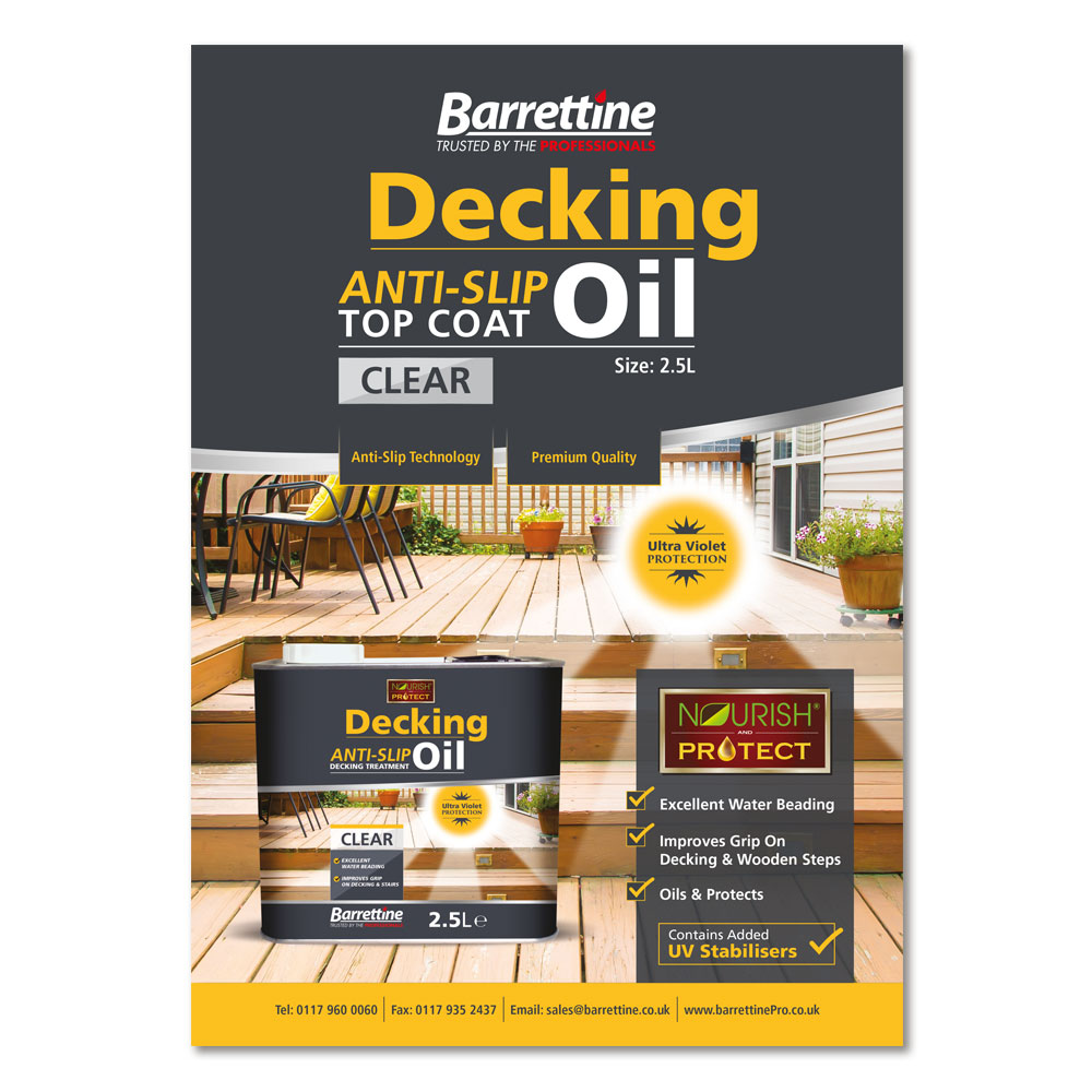 Decking Oil Advert