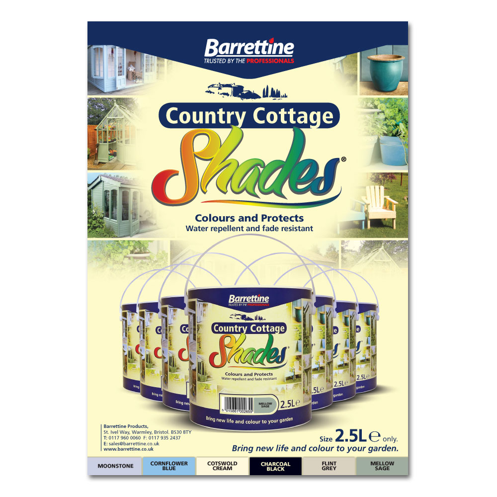 Country Cottage Shades Advert