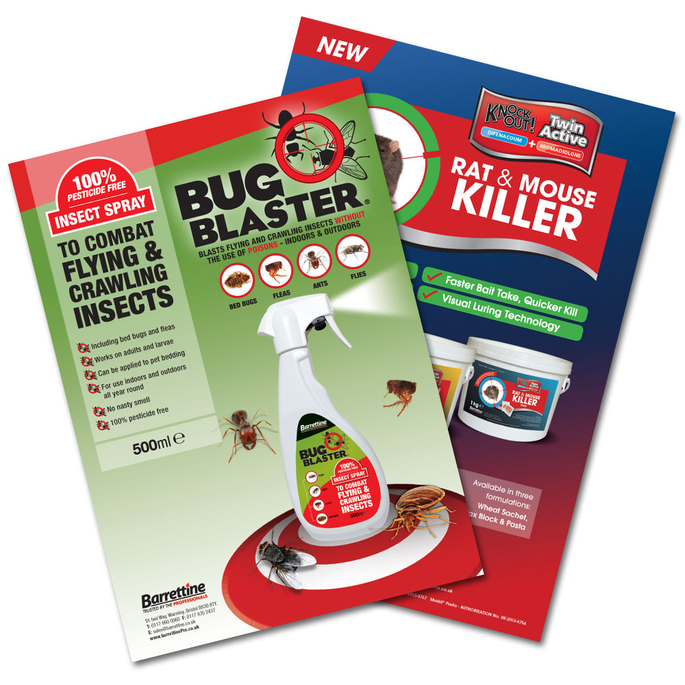 Knockout Rodenticides & Bug Blaster Advert