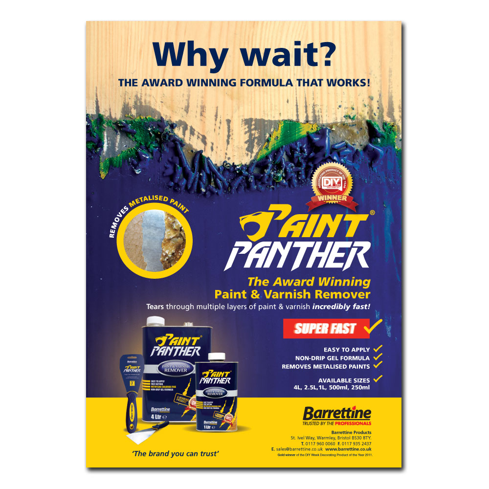 Paint Panther Advert