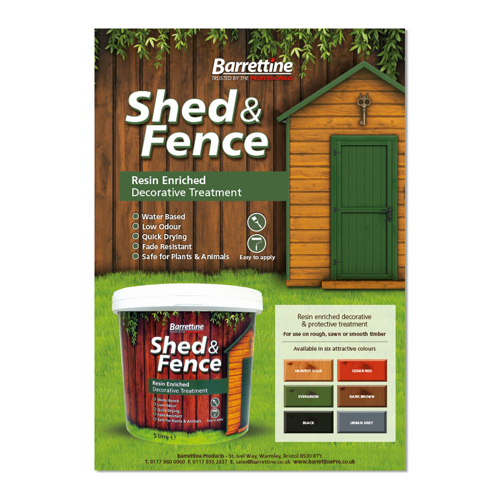 Shed & Fence Flyer