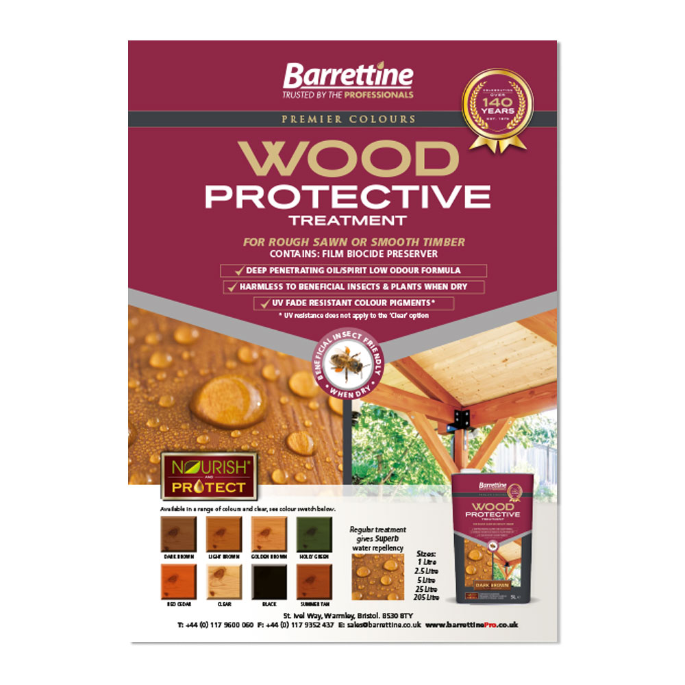 Wood Protective Treatment Advert A5