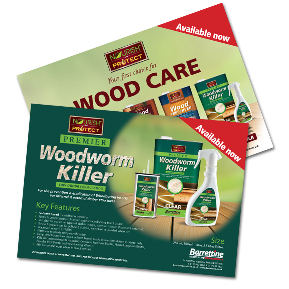 Woodworm & Woodcare Flyer