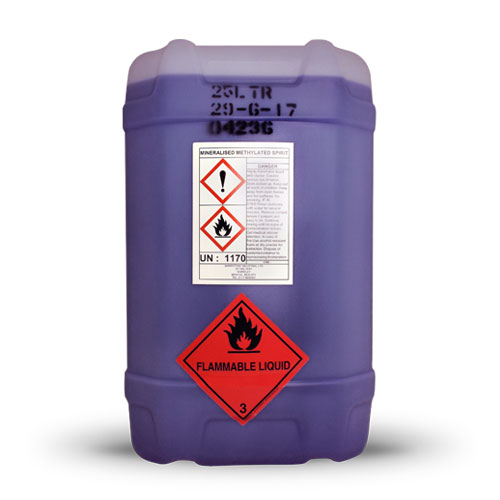 Mineralised Methylated Spirits 25L