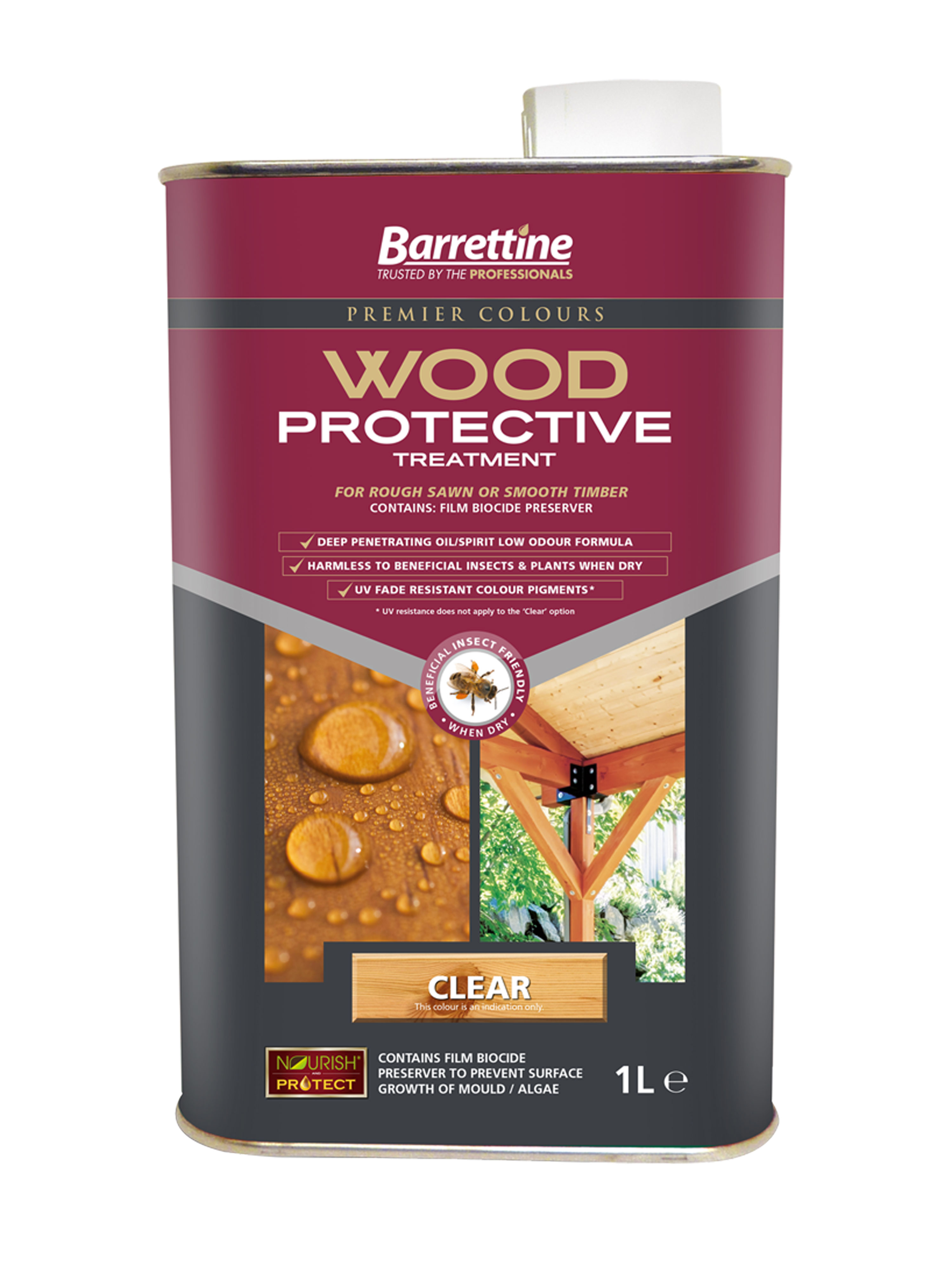 Wood Protective Treatment: Clear 1L