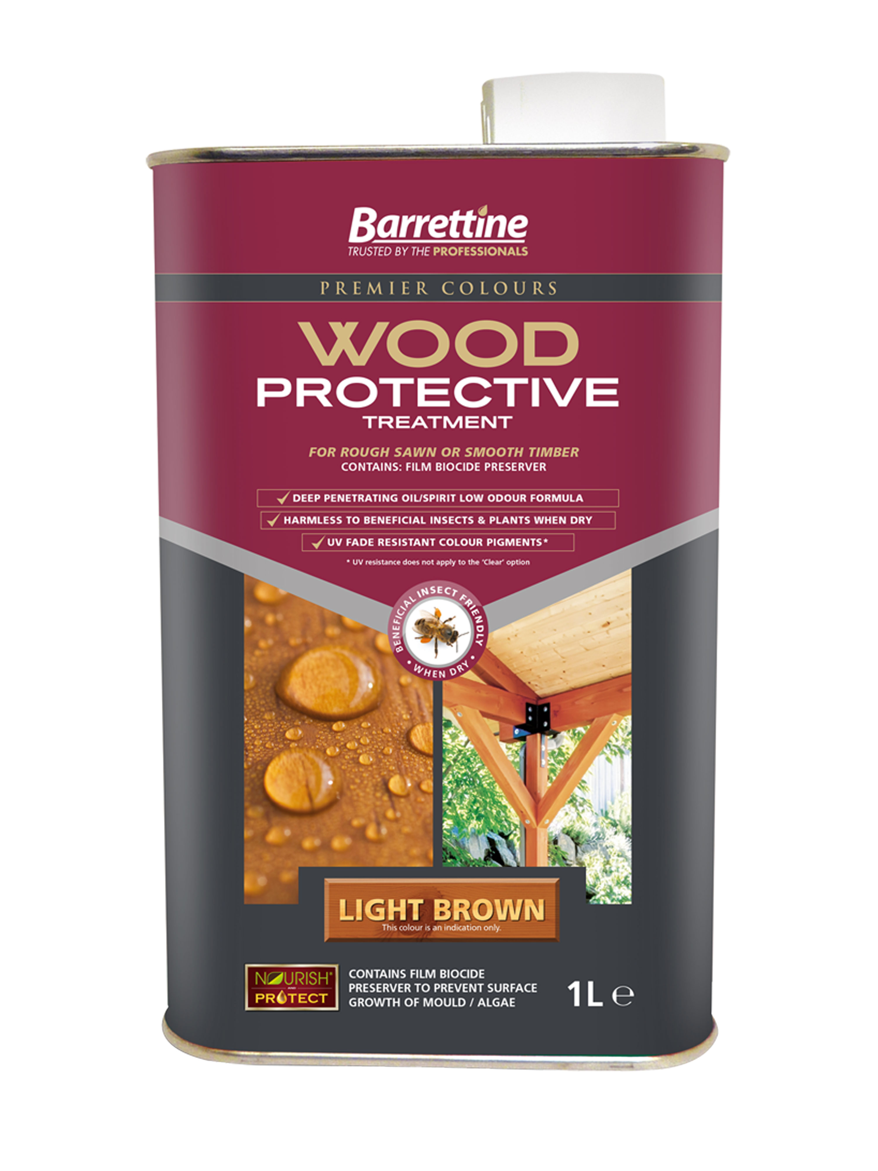 Wood Protective Treatment: Light Brown 1L