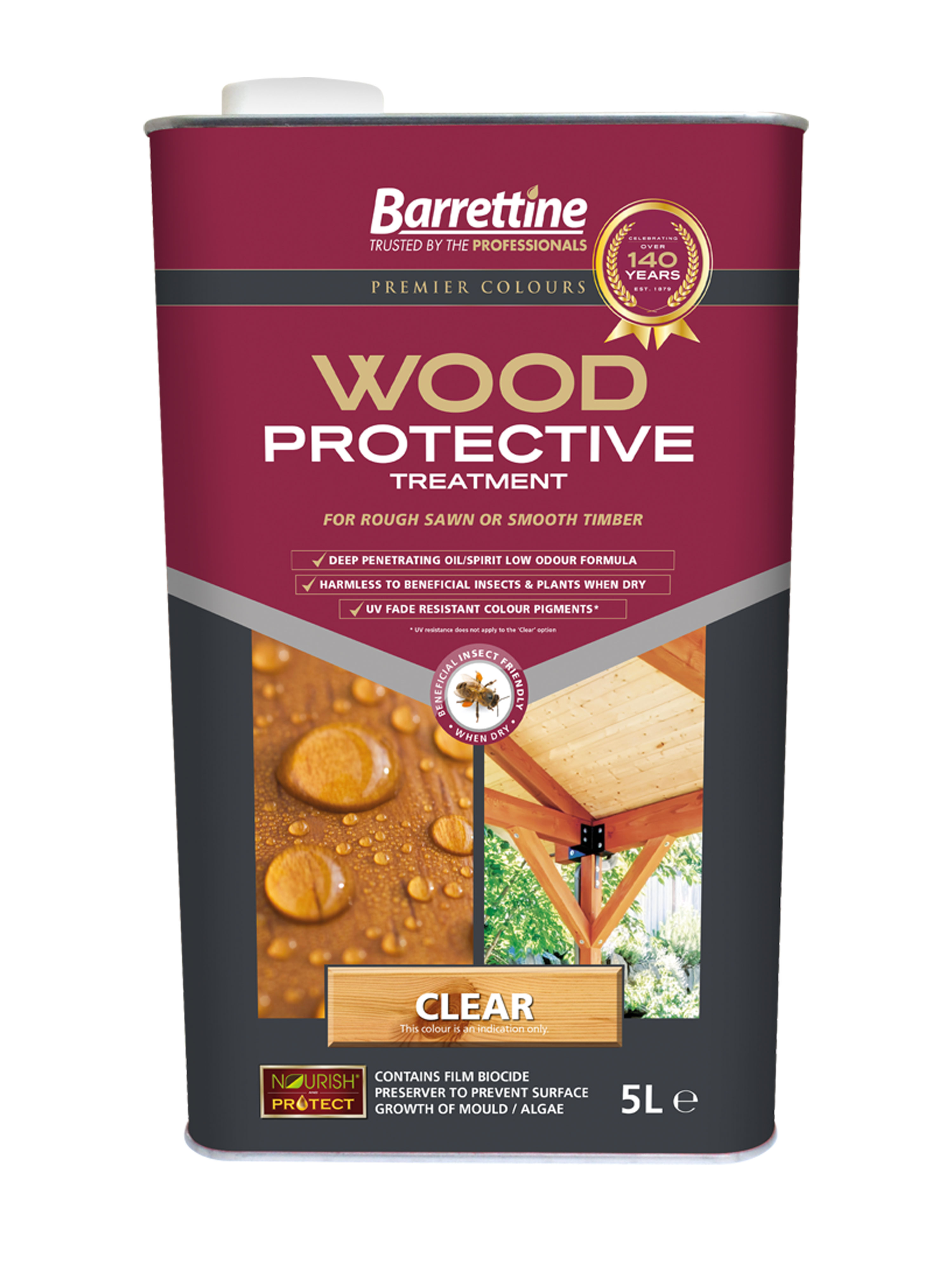 Wood Protective Treatment: Clear 5L