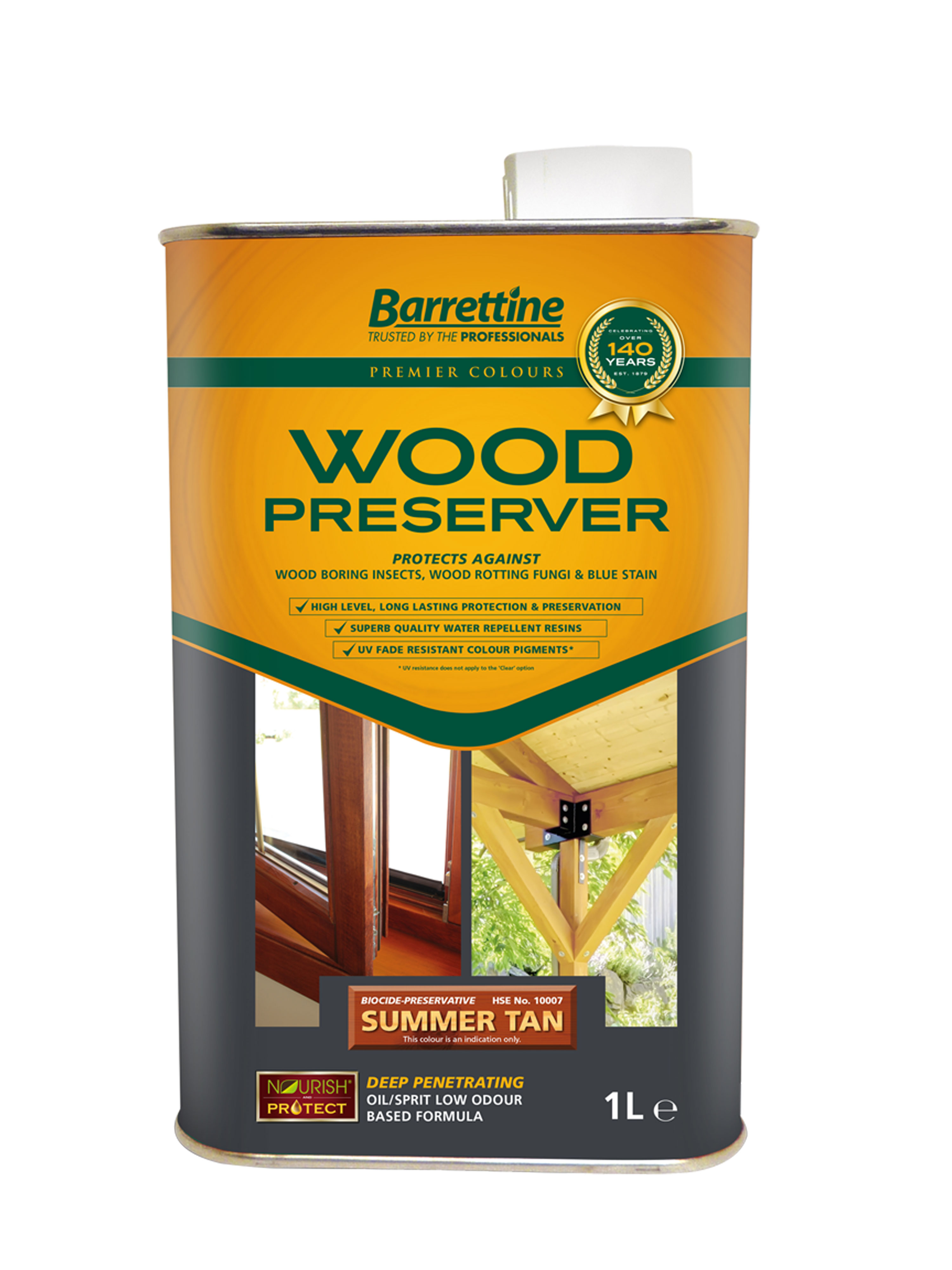 Wood Preserver 1L Summer Tan