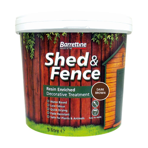 Shed & Fence Treatment Dark Brown