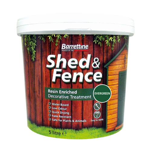 Shed & Fence Treatment Evergreen
