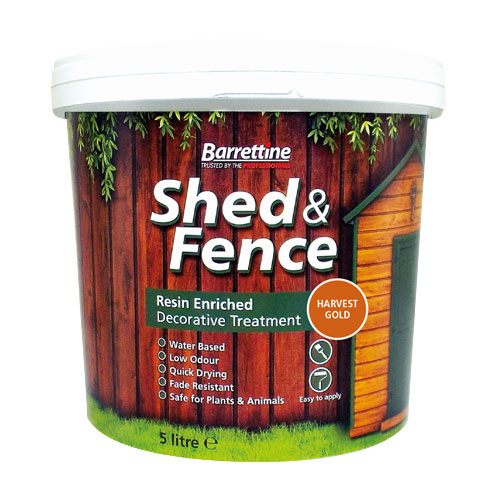 Shed & Fence Treatment Harvest Gold