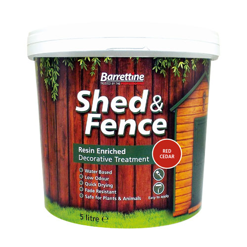 Shed & Fence Treatment Red Cedar