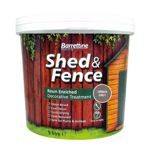 Shed & Fence Treatment Urban Grey