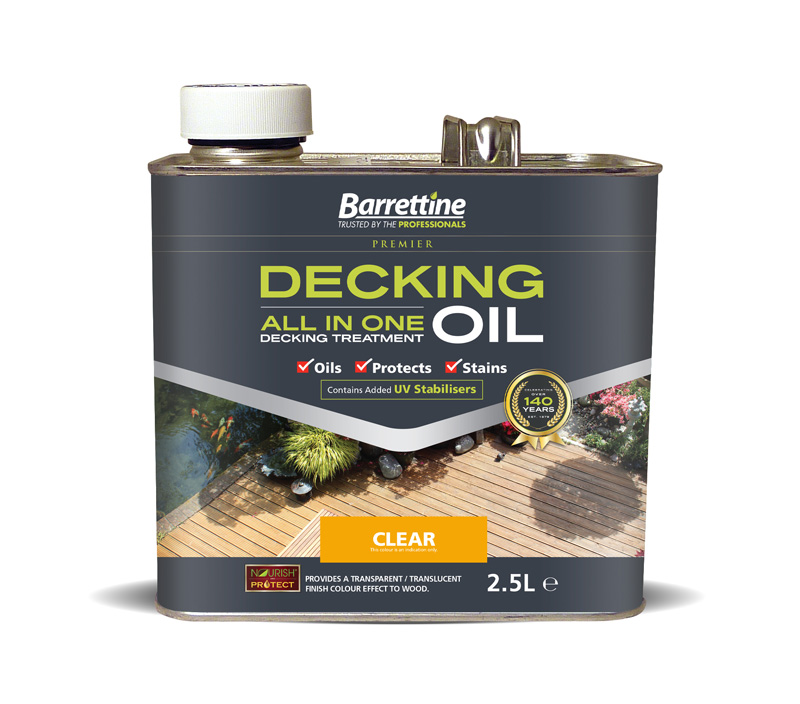 Decking Oil All-In-One 2.5L Clear