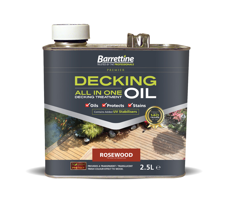 Decking Oil All-In-One 2.5L Rosewood