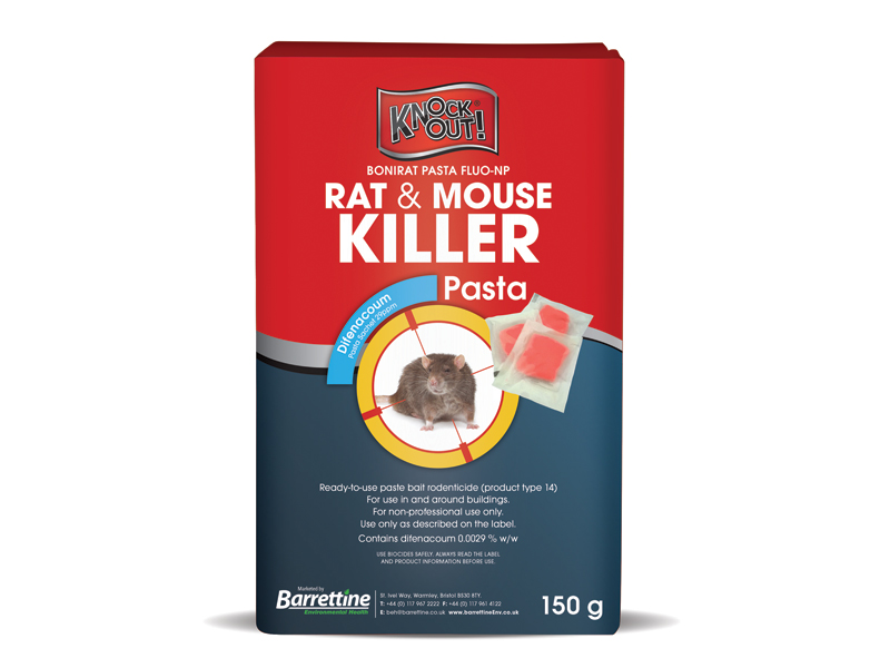 Knockout® Rat & Mouse Killer Pasta Sachets