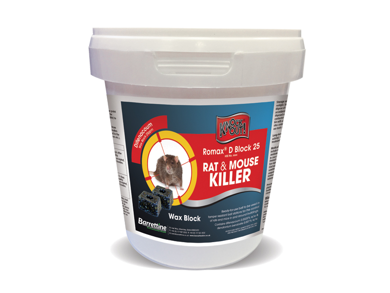 Knockout® Rat & Mouse Killer Wax Block