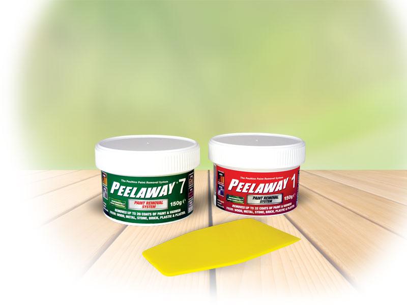 Peelaway 1 & 7 Sample Pots
