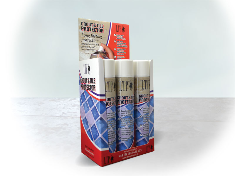 Grout & Tile Protector