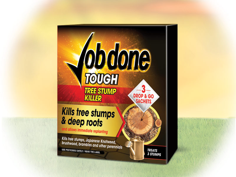 Job Done Tree Stump Killer Sachets