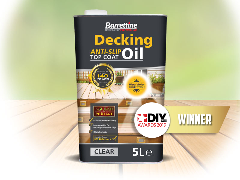 Anti Slip Decking Oil