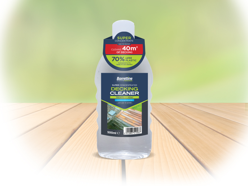 Super Concentrated Decking Cleaner