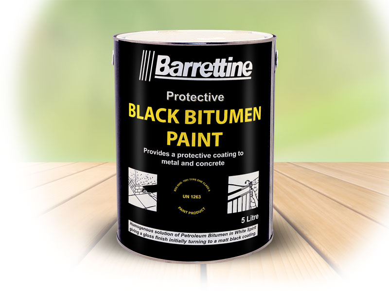 Black Bitumen Paint