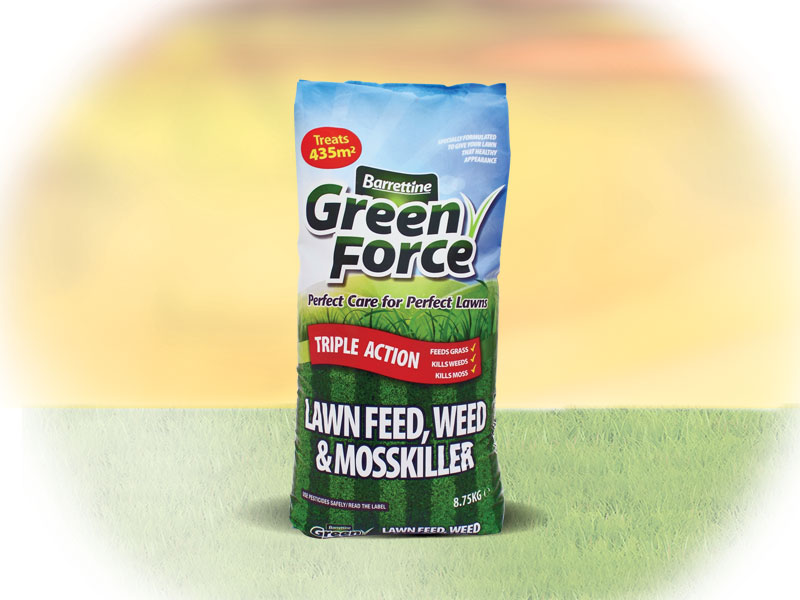 Lawn Feed, Moss & Weedkiller