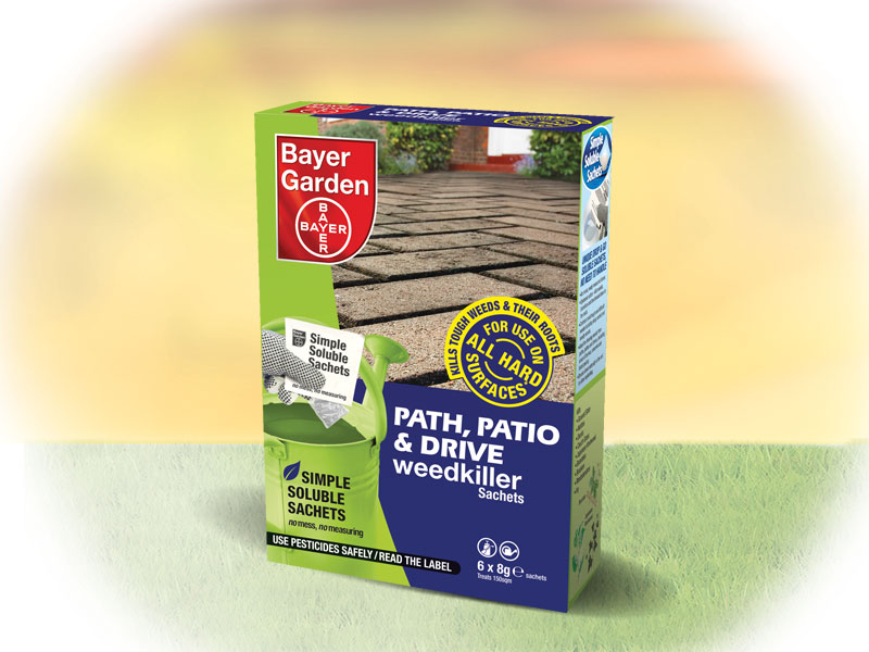 Path, Patio & Drive Weedkiller Sachets