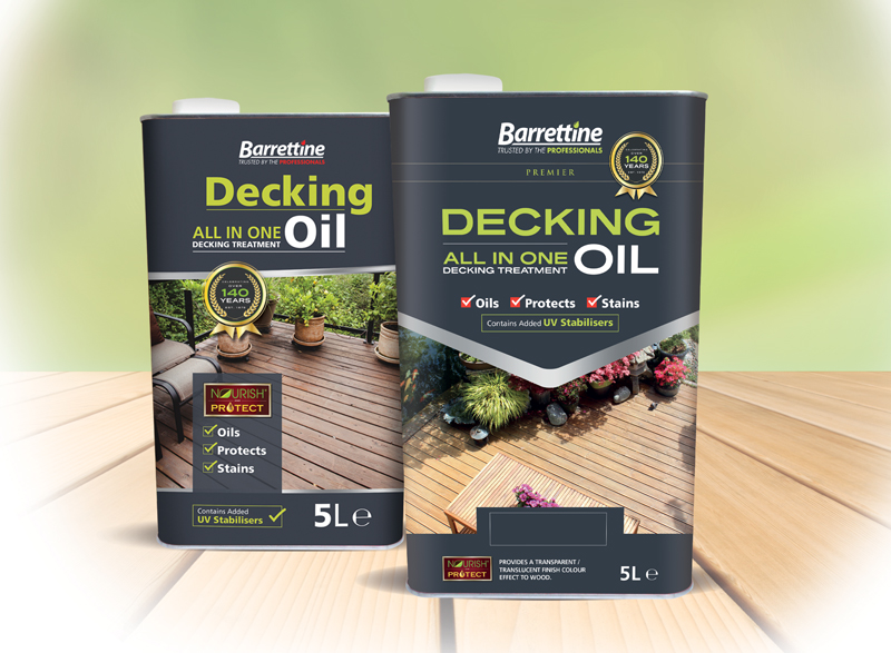 Decking Oil All-In-One-Treatment