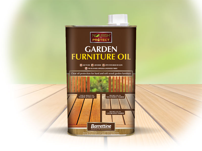 Garden Furniture Oil