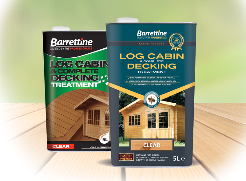 Log Cabin Treatment