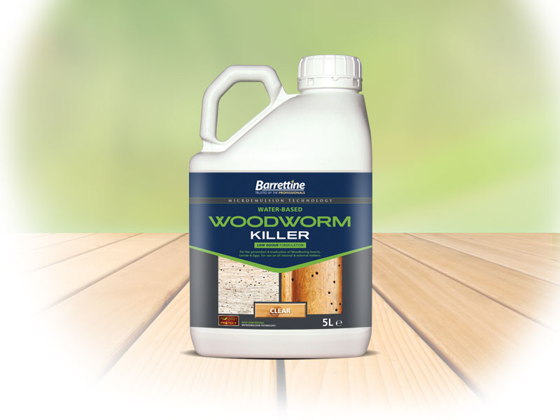 Water-Based Woodworm Killer
